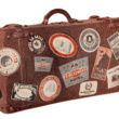 Leather Luggage and Labels of the Past